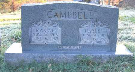 CAMPBELL, MAXINE - Marion County, Arkansas | MAXINE CAMPBELL - Arkansas Gravestone Photos