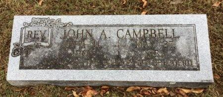 CAMPBELL, JOHN A. - Marion County, Arkansas   JOHN A. CAMPBELL - Arkansas Gravestone Photos