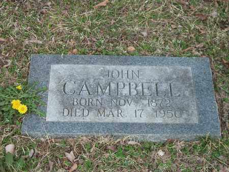 CAMPBELL, JOHN - Marion County, Arkansas | JOHN CAMPBELL - Arkansas Gravestone Photos