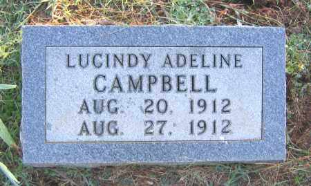 CAMPBELL, LUCINDY ADELINE - Marion County, Arkansas | LUCINDY ADELINE CAMPBELL - Arkansas Gravestone Photos