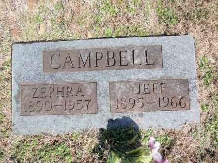CAMPBELL, JEFF THOMAS - Marion County, Arkansas | JEFF THOMAS CAMPBELL - Arkansas Gravestone Photos