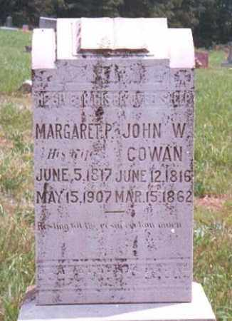 COWAN, MARGARET P. - Marion County, Arkansas   MARGARET P. COWAN - Arkansas Gravestone Photos