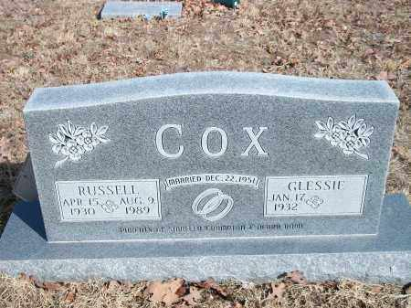 COX, RUSSELL - Marion County, Arkansas | RUSSELL COX - Arkansas Gravestone Photos