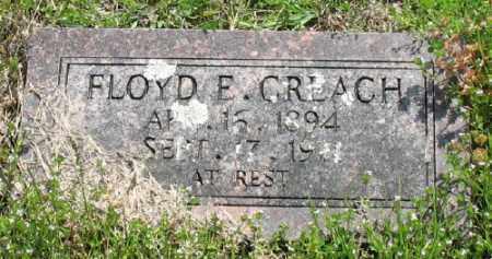 CREACH, FLOYD E. - Marion County, Arkansas | FLOYD E. CREACH - Arkansas Gravestone Photos