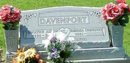 DAVENPORT, DWAYNE ALTON - Marion County, Arkansas | DWAYNE ALTON DAVENPORT - Arkansas Gravestone Photos