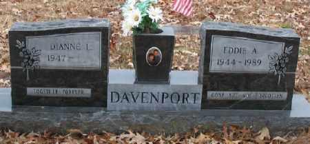 DAVENPORT, EDDIE A. - Marion County, Arkansas | EDDIE A. DAVENPORT - Arkansas Gravestone Photos