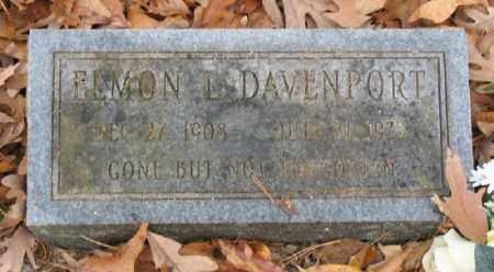 DAVENPORT, ELMON - Marion County, Arkansas   ELMON DAVENPORT - Arkansas Gravestone Photos