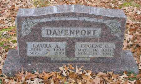 DAVENPORT, LAURA A. - Marion County, Arkansas | LAURA A. DAVENPORT - Arkansas Gravestone Photos
