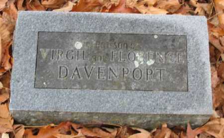 DAVENPORT, INFANT SON - Marion County, Arkansas   INFANT SON DAVENPORT - Arkansas Gravestone Photos