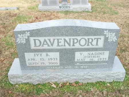 DAVENPORT, IVY BLAIR - Marion County, Arkansas | IVY BLAIR DAVENPORT - Arkansas Gravestone Photos