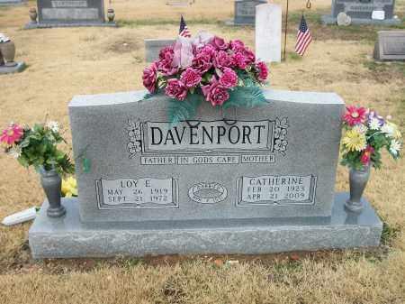 DAVENPORT, CATHERINE - Marion County, Arkansas | CATHERINE DAVENPORT - Arkansas Gravestone Photos