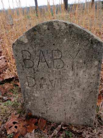 DAVIS, BABY - 2 - Marion County, Arkansas | BABY - 2 DAVIS - Arkansas Gravestone Photos