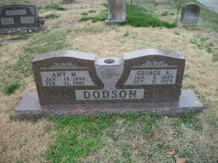 DODSON, GEORGE A. - Marion County, Arkansas | GEORGE A. DODSON - Arkansas Gravestone Photos