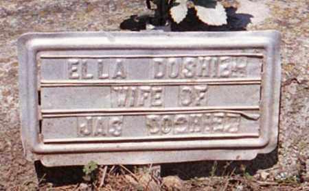 DOSHIER, ELLA - Marion County, Arkansas   ELLA DOSHIER - Arkansas Gravestone Photos