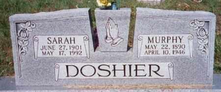 SHELTON DOSHIER, SARAH - Marion County, Arkansas | SARAH SHELTON DOSHIER - Arkansas Gravestone Photos