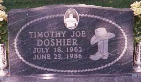 DOSHIER, TIMOTHY JOE - Marion County, Arkansas | TIMOTHY JOE DOSHIER - Arkansas Gravestone Photos