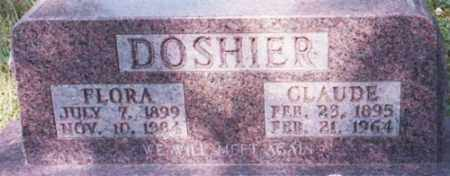 WICKERSHAM DOSHIER, FLORA - Marion County, Arkansas | FLORA WICKERSHAM DOSHIER - Arkansas Gravestone Photos