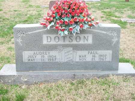 DOTSON, PAUL - Marion County, Arkansas | PAUL DOTSON - Arkansas Gravestone Photos