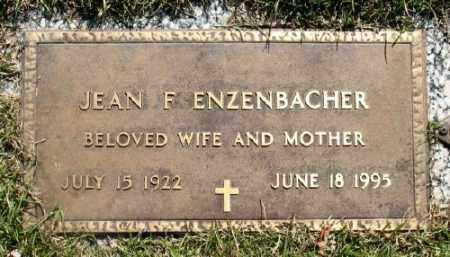 ENZENBACHER, JEAN F. - Marion County, Arkansas | JEAN F. ENZENBACHER - Arkansas Gravestone Photos