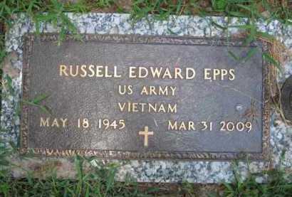EPPS (VETERAN VIET), RUSSELL EDWARD - Marion County, Arkansas | RUSSELL EDWARD EPPS (VETERAN VIET) - Arkansas Gravestone Photos