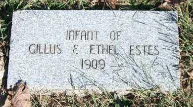 ESTES, INFANT - Marion County, Arkansas | INFANT ESTES - Arkansas Gravestone Photos