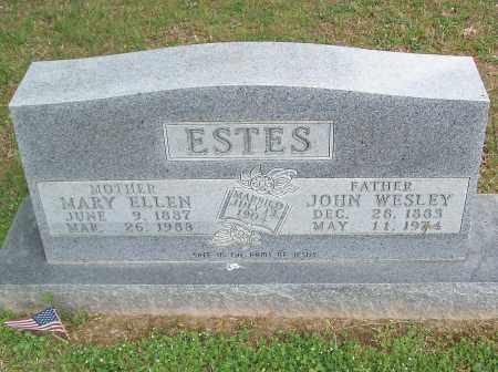 ESTES, MARY ELLEN - Marion County, Arkansas | MARY ELLEN ESTES - Arkansas Gravestone Photos