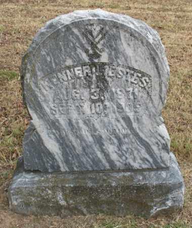 ESTES, KENNER L. - Marion County, Arkansas   KENNER L. ESTES - Arkansas Gravestone Photos