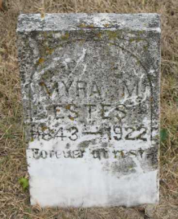 ESTES, MYRA  M. - Marion County, Arkansas | MYRA  M. ESTES - Arkansas Gravestone Photos