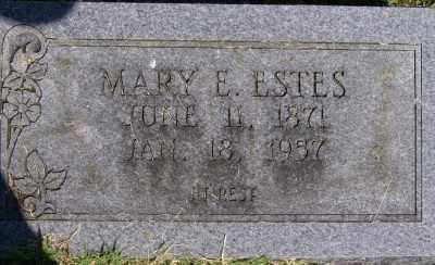 ESTES, MARY E. - Marion County, Arkansas | MARY E. ESTES - Arkansas Gravestone Photos