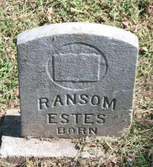 ESTES, RANSOM Y. - Marion County, Arkansas | RANSOM Y. ESTES - Arkansas Gravestone Photos