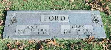 FORD, BESSIE - Marion County, Arkansas | BESSIE FORD - Arkansas Gravestone Photos