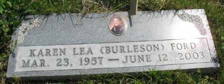 BURLESON FORD, KAREN LEA - Marion County, Arkansas | KAREN LEA BURLESON FORD - Arkansas Gravestone Photos