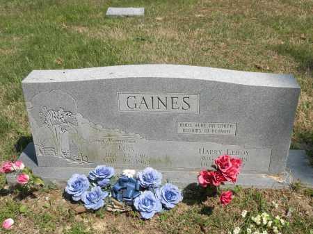 GAINES, HARRY LEROY - Marion County, Arkansas | HARRY LEROY GAINES - Arkansas Gravestone Photos
