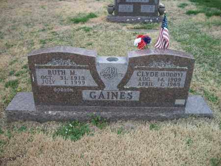 DODSON GAINES, RUTH M. - Marion County, Arkansas | RUTH M. DODSON GAINES - Arkansas Gravestone Photos
