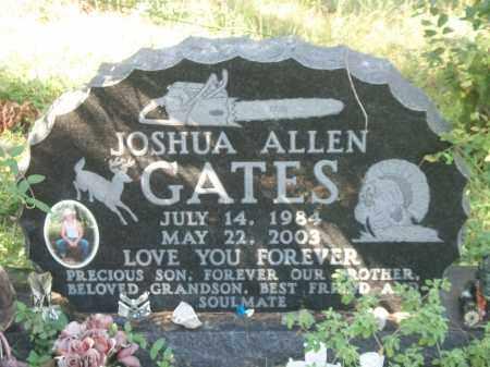 GATES, JOSHUA ALLEN - Marion County, Arkansas | JOSHUA ALLEN GATES - Arkansas Gravestone Photos