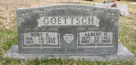 GOETTSCH, ALBERT G. - Marion County, Arkansas | ALBERT G. GOETTSCH - Arkansas Gravestone Photos
