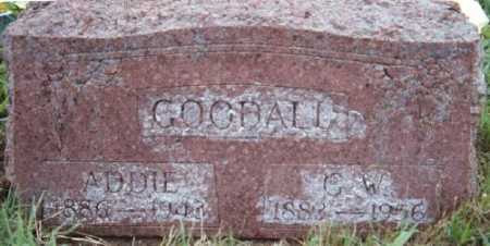 GOODALL, ADDIE - Marion County, Arkansas | ADDIE GOODALL - Arkansas Gravestone Photos