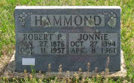 HAMMOND, ROBERT P. - Marion County, Arkansas | ROBERT P. HAMMOND - Arkansas Gravestone Photos