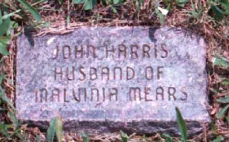 HARRIS, JOHN - Marion County, Arkansas | JOHN HARRIS - Arkansas Gravestone Photos