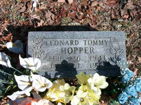 HOPPER, LEONARD TOMMY - Marion County, Arkansas | LEONARD TOMMY HOPPER - Arkansas Gravestone Photos