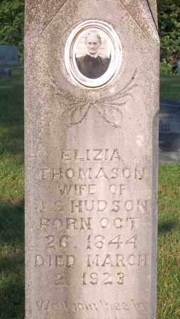 HUDSON, ELIZIA (CLOSE UP) - Marion County, Arkansas | ELIZIA (CLOSE UP) HUDSON - Arkansas Gravestone Photos