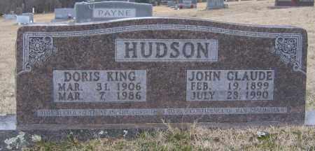 HUDSON, JOHN CLAUDE - Marion County, Arkansas | JOHN CLAUDE HUDSON - Arkansas Gravestone Photos