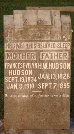 HUDSON, H. W. - Marion County, Arkansas | H. W. HUDSON - Arkansas Gravestone Photos