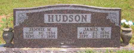 HUDSON, JAMES W. - Marion County, Arkansas | JAMES W. HUDSON - Arkansas Gravestone Photos