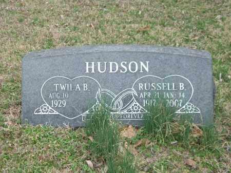 HUDSON, RUSSELL B. - Marion County, Arkansas | RUSSELL B. HUDSON - Arkansas Gravestone Photos