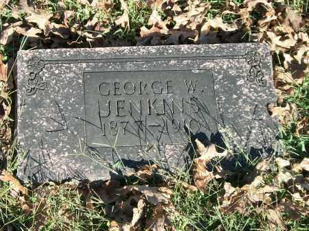 JENKINS, GEORGE W. - Marion County, Arkansas   GEORGE W. JENKINS - Arkansas Gravestone Photos