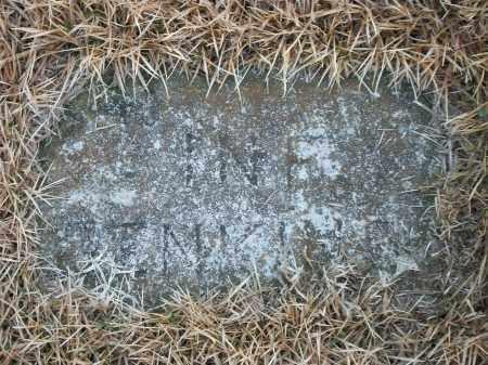 JENKINS, INFANT - Marion County, Arkansas   INFANT JENKINS - Arkansas Gravestone Photos