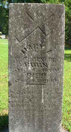 JENKINS, MARY A. - Marion County, Arkansas   MARY A. JENKINS - Arkansas Gravestone Photos