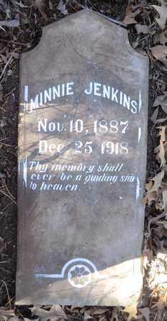 JENKINS, MINNIE - Marion County, Arkansas | MINNIE JENKINS - Arkansas Gravestone Photos