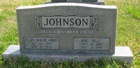 ORR JOHNSON, ELLEN MAUDE - Marion County, Arkansas | ELLEN MAUDE ORR JOHNSON - Arkansas Gravestone Photos
